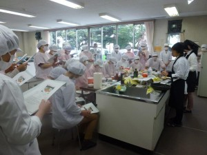 食肉調理実習
